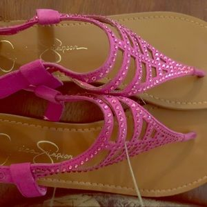 Jessica Simpson Fuchsia Sandal